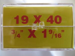 Horolovar 19x40 400 Day Clock Mainspring