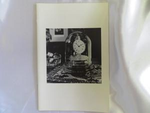 John C. Briggs and Rotary Pendulum Clocks Booklet