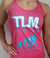TLM Research WOMENS Pink Tank Top