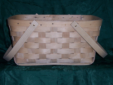 Wooden Shopping Basket - Proudly Made in PA., USA