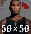 50 x 50  (50 Cent) - Hardback w/ cd