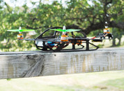 TR1 400 Sized Tricopter - Complete Airframe