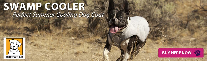 Ruffwear Swamp Cooler dog jacket