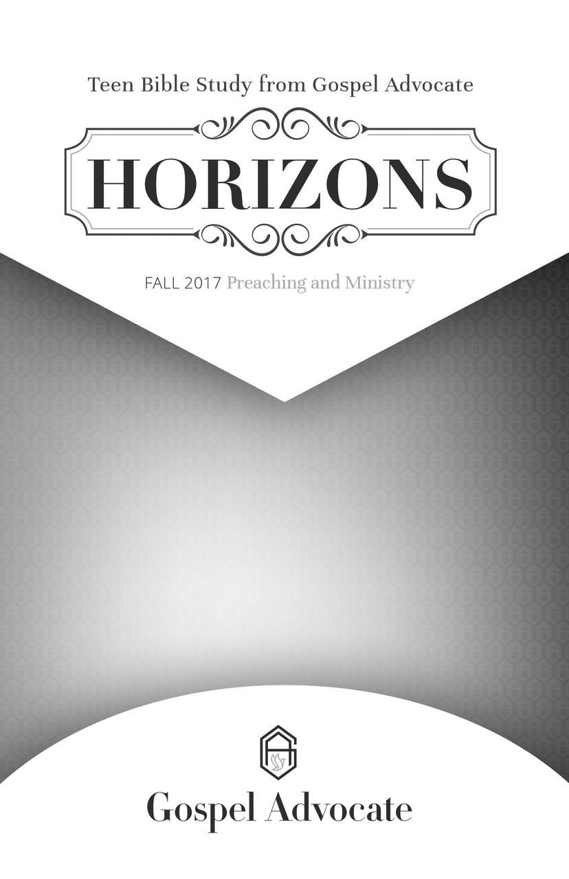 Horizons Bible Study - Presbyterian Women of New Braunfels ...