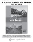 A Glossary of World History Terms (English Only)
