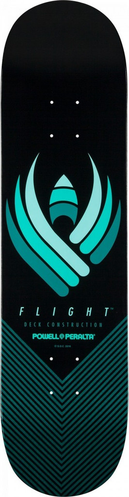 Powell Flight 242 Skateboard Deck - 8""