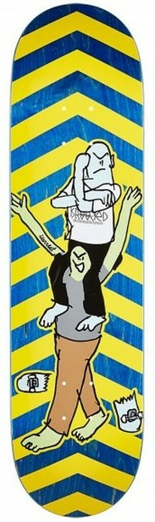 """Krooked Worrest F-This Skateboard Deck - 8.18"""""""