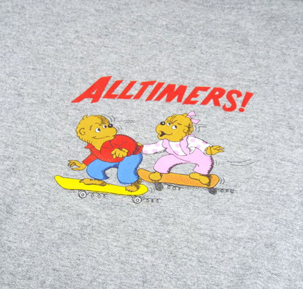 Alltimers Bear Crew Sweater - Grey