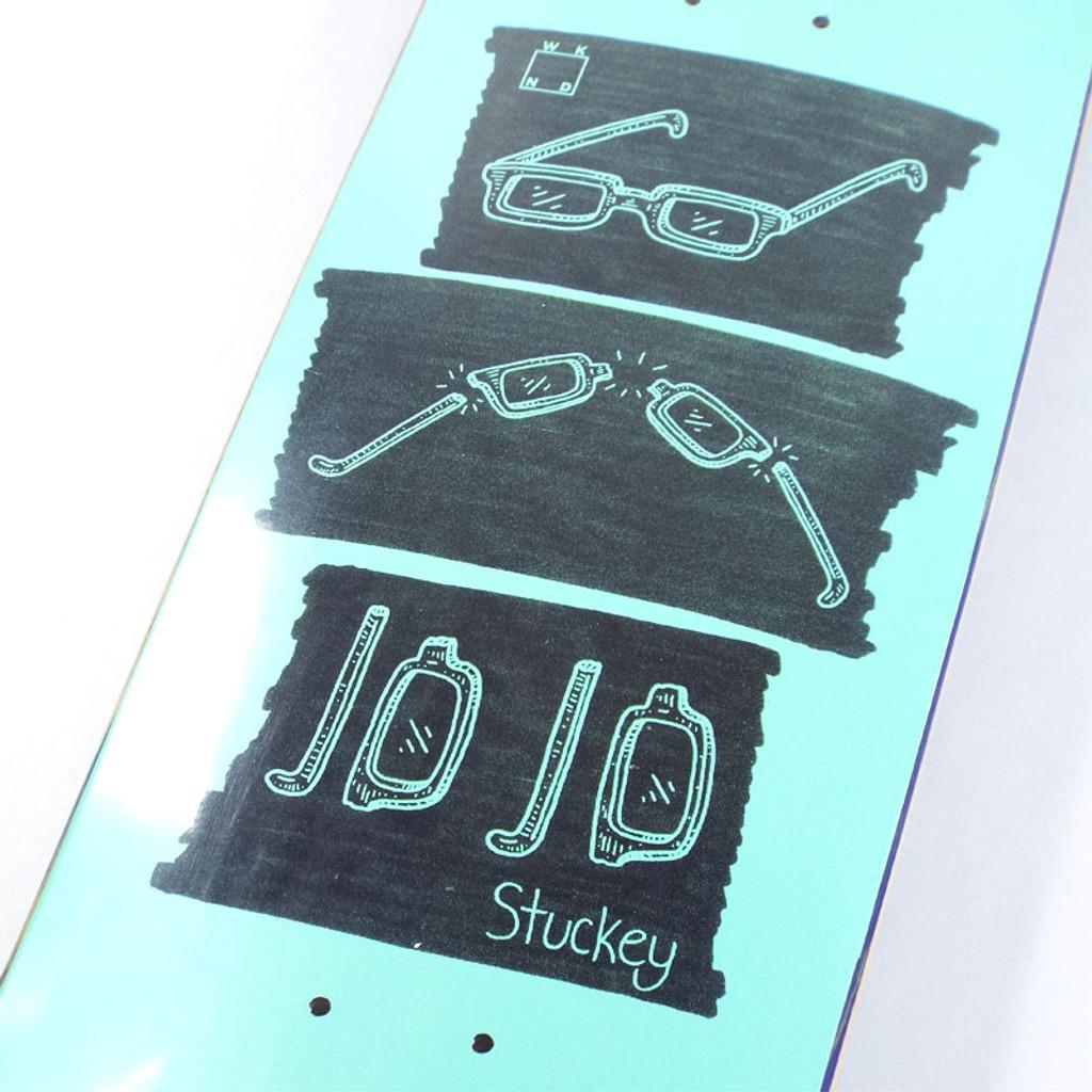 """WKND Jojo Glasses Skate Deck - 8.5"""""""
