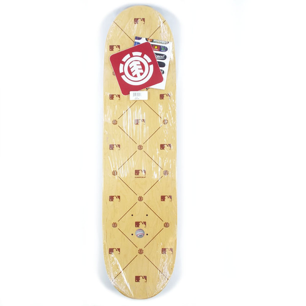 "Element MLB Detroit City Featherlight Skateboard Deck - 8.25"""