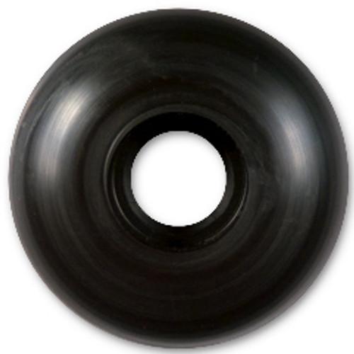 Steadfast Blank Black Wheels - 52mm