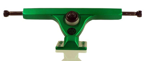 "Caliber II Forty Four Satin Green Longboard Trucks - 10"""