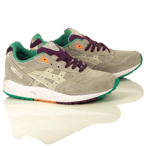 Asics Gel Saga Shoes - Soft Grey/Soft Grey
