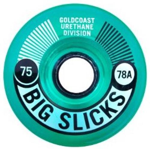 GoldCoast Big Slicks Vapor Longboard Wheels - 75mm/78A