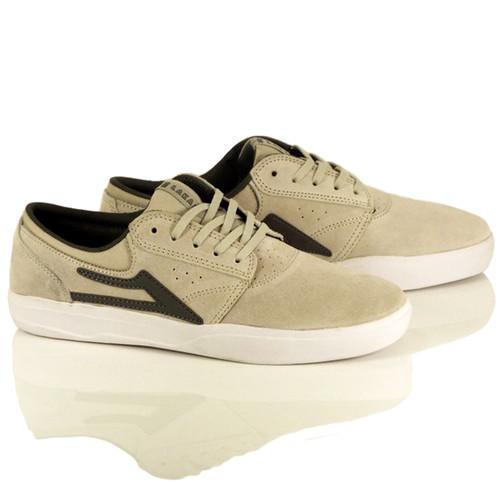 Lakai Griffin XLX Shoes - White Suede
