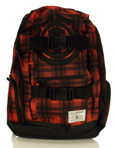 "Element Mohave ""Camp Collection"" Backpack - Red/Black Plaid"