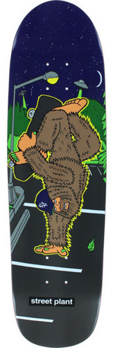 Street Plant Bigfoot Handplant Skateboard Deck - 8.5""