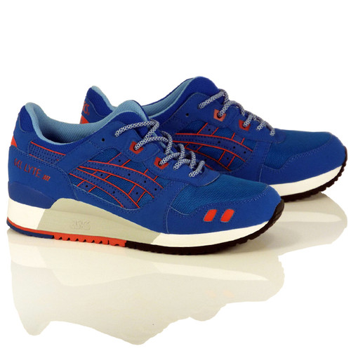 "Asics Gel-Lyte III Shoes - Mid Blue/Mid Blue ""Future Pack"""