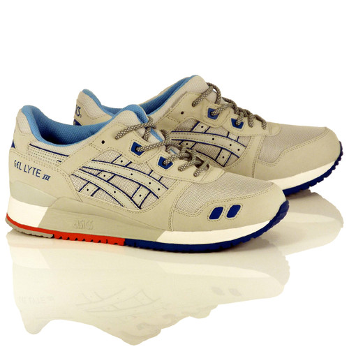 "Asics Gel-Lyte III Shoes - Soft Grey/Soft Grey ""Future Pack"""