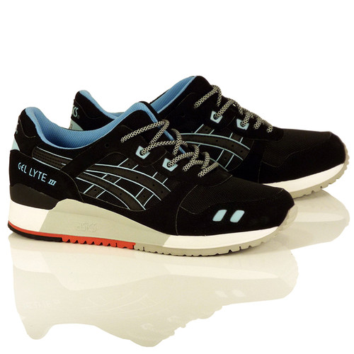 "Asics Gel-Lyte III Shoes - Black/Black ""Future Pack"""