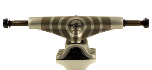 Tensor Mag Light Mullen Uber Silver Skateboard Trucks - Low
