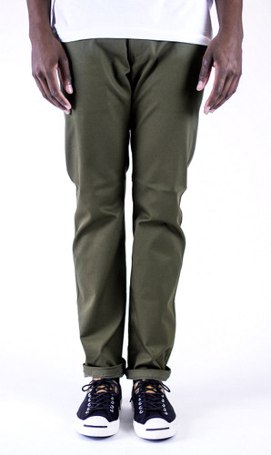Kennedy Chino Pants - Olive