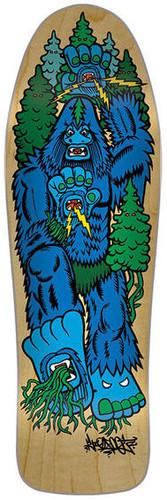 "Santa Cruz Bigfoot Hand Team Skateboard Deck - 10.07"""