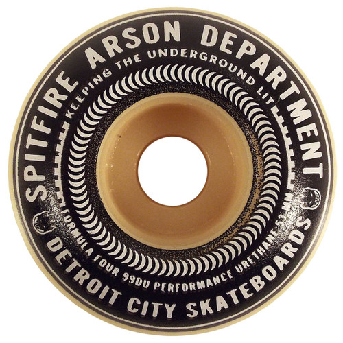 Spitfire x DCS Formula Four Burn Union Skateboard Wheels - 53mm