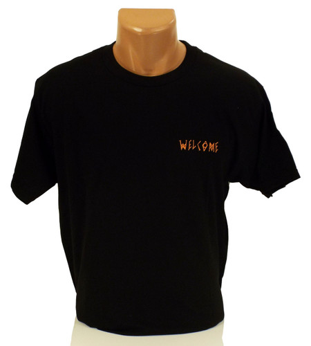 Welcome Talisman Gradient T-Shirt - Black
