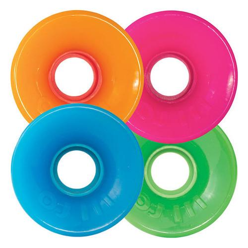 OJ III Hot Juice Neon Combo Skateboard Wheels - 60mm