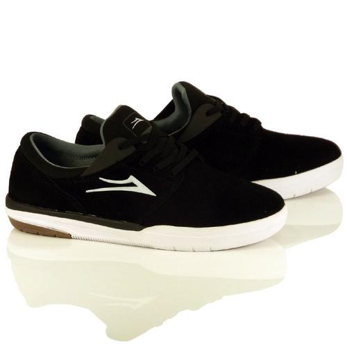 Lakai Fremont Shoes - Black Suede