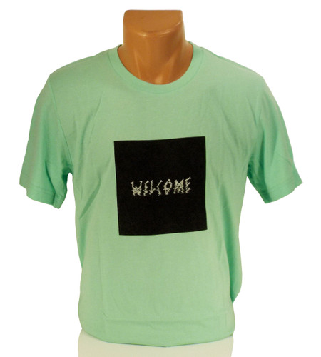Welcome Screenshot T-Shirt - Mint/Black