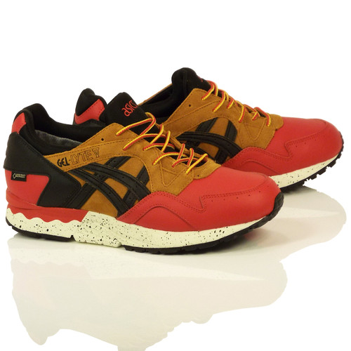 Asics Gel-Lyte V Gortex Shoes - Red/Black