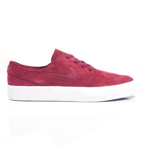 Nike SB Zoom Janoski Premium HT Shoes - Team Red/Team Red-White