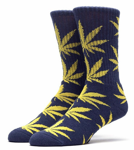 Huf Plantlife Crew Socks - West Point Navy