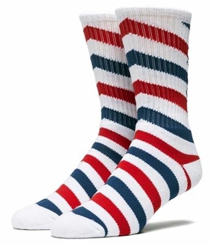 Huf Barber Crew Socks - White