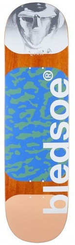 """Quasi Bledsoe Metalhead Peach Skateboard Deck - 8.25"""""""