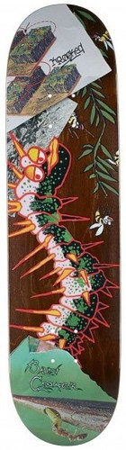 Krooked Cromer Tore Up Skateboard Deck - 8.06""