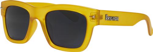 Brigada Big Shot Burnt Orange Sunglasses