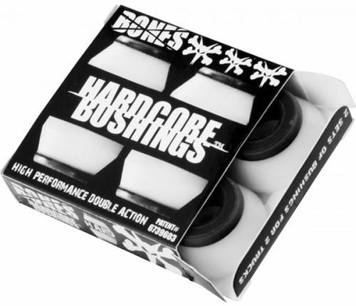 Bones Hardcore Hard Black/White Bushings