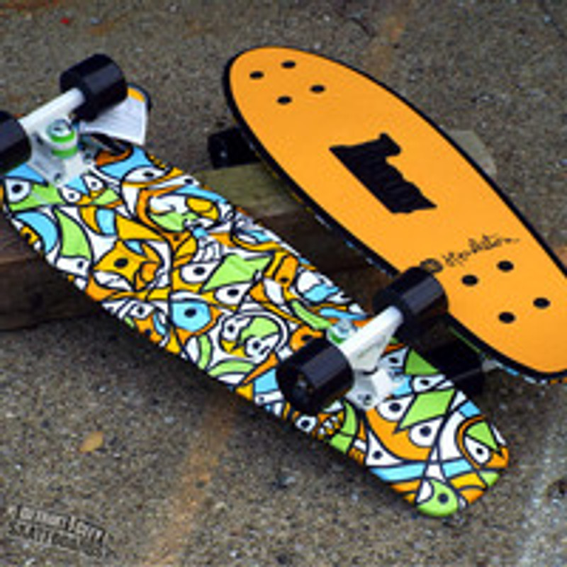 The Penny Skateboards x Don Pendleton Nickel collab now in stock!