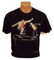 Everybodyskates Fun & Funner Tee - Black