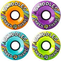 Sector 9 Skiddles Yellow/Green/Blue/Purple Longboard Wheels - 78a 70mm