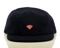 Diamond Brilliant D 5-Panel Hat - Navy
