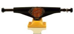 Tensor Mag Light Daewon Neon Donuts Black/Yellow Skateboard Trucks - Low