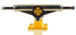 Independent Strike Cross Polish/Yellow Skateboard Trucks - Standard