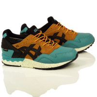Asics Gel-Lyte V Gortex Shoes - Kingfisher/Black