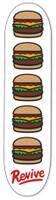 "Revive (Life's Good) Burger Skateboard Deck - 8.25"""