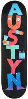 "WKND Austyn Constructed Black Skateboard Deck - 8.38"""