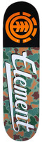 Element Jungle Script Skateboard Deck - 8.25""